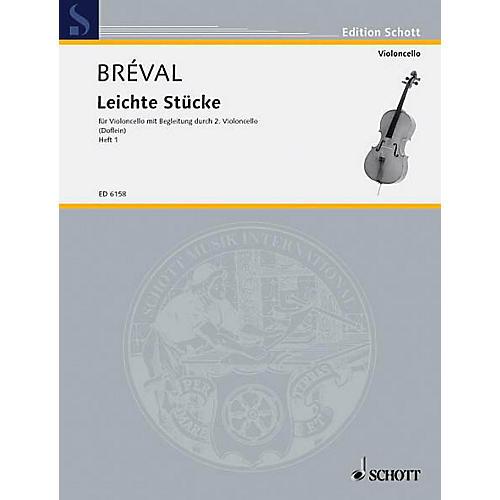 Schott Easy Pieces Vol. 1 (Performance Score) Schott Series Composed by Jean Baptiste Bréval