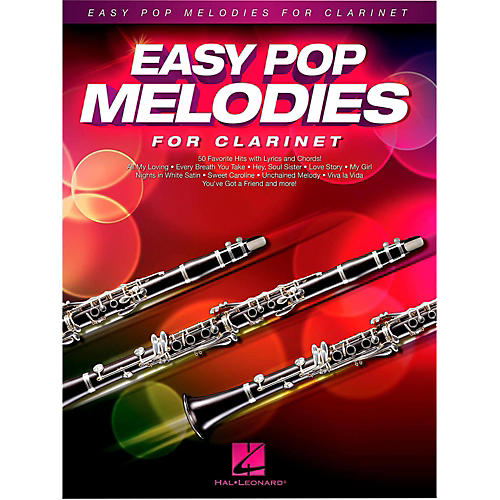 Hal Leonard Easy Pop Melodies For Clarinet