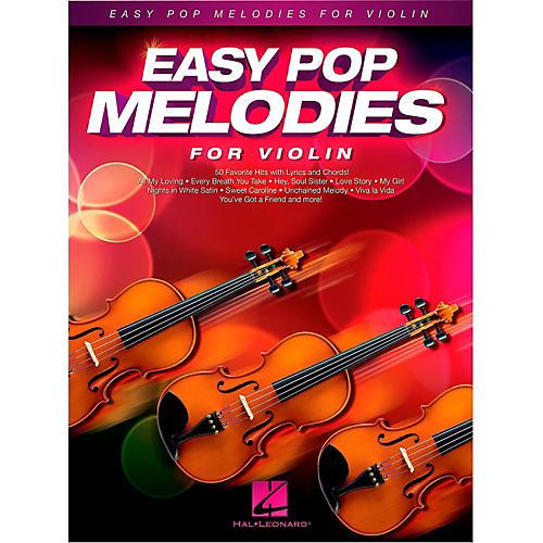 Hal Leonard Easy Pop Melodies For Violin