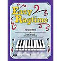 SCHAUM Easy Ragtime (Level 3 Early Inter) Educational Piano Book thumbnail