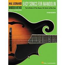 Hal Leonard Easy Songs for Mandolin Tab Method Supplement