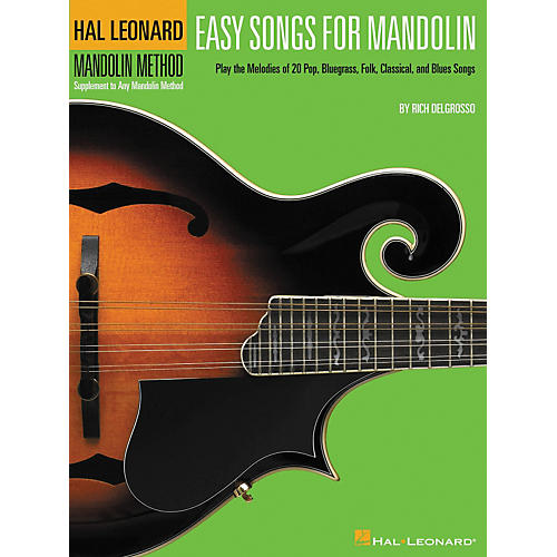 Hal Leonard Easy Songs for Mandolin Tab Method Supplement