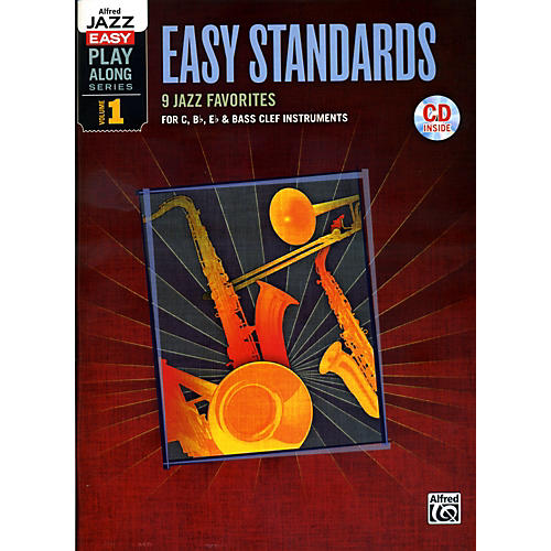 Alfred Easy Standards 1 Flexible Instrumentation Book & CD
