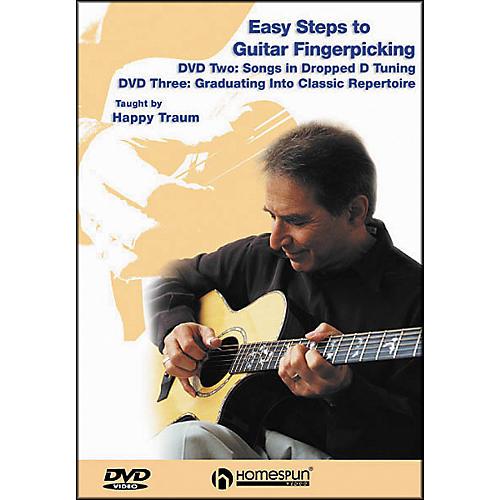 Homespun Easy Steps to Guitar Fingerpicking 2 (DVD)