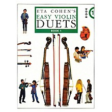 Novello Easy Violin Duets - Book 1 Music Sales America Series