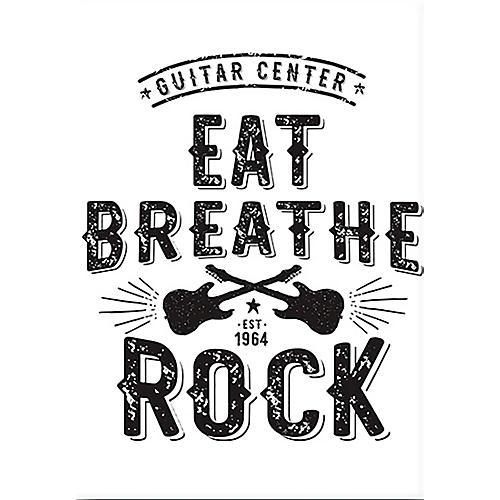 Guitar Center Eat Breathe Rock Est. 1964 Magnet