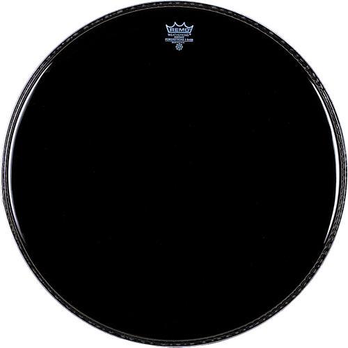 Remo Ebony Powerstroke 3 Resonant Bass Drum Head