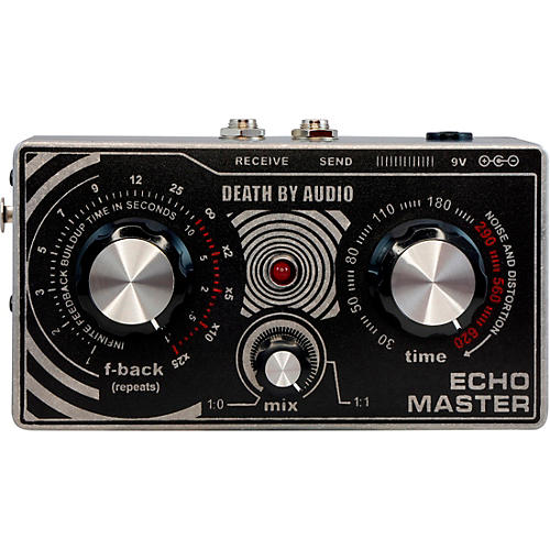 DEATH BY AUDIO Echo Master Lo-fi Vocal Delay/Preamp Effects Pedal