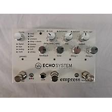 Empress Effects Echo System Dual Engine Delay Effect Pedal
