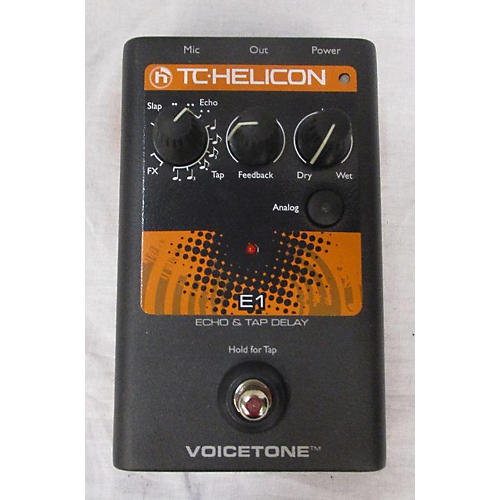 TC Helicon Echo & Tap Delay Effect Pedal