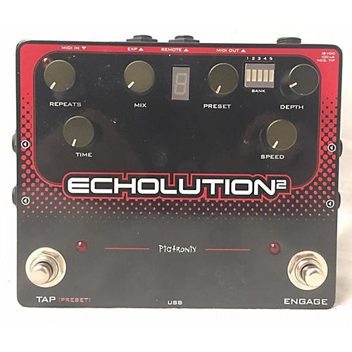 Pigtronix Echolution 2 Effect Pedal