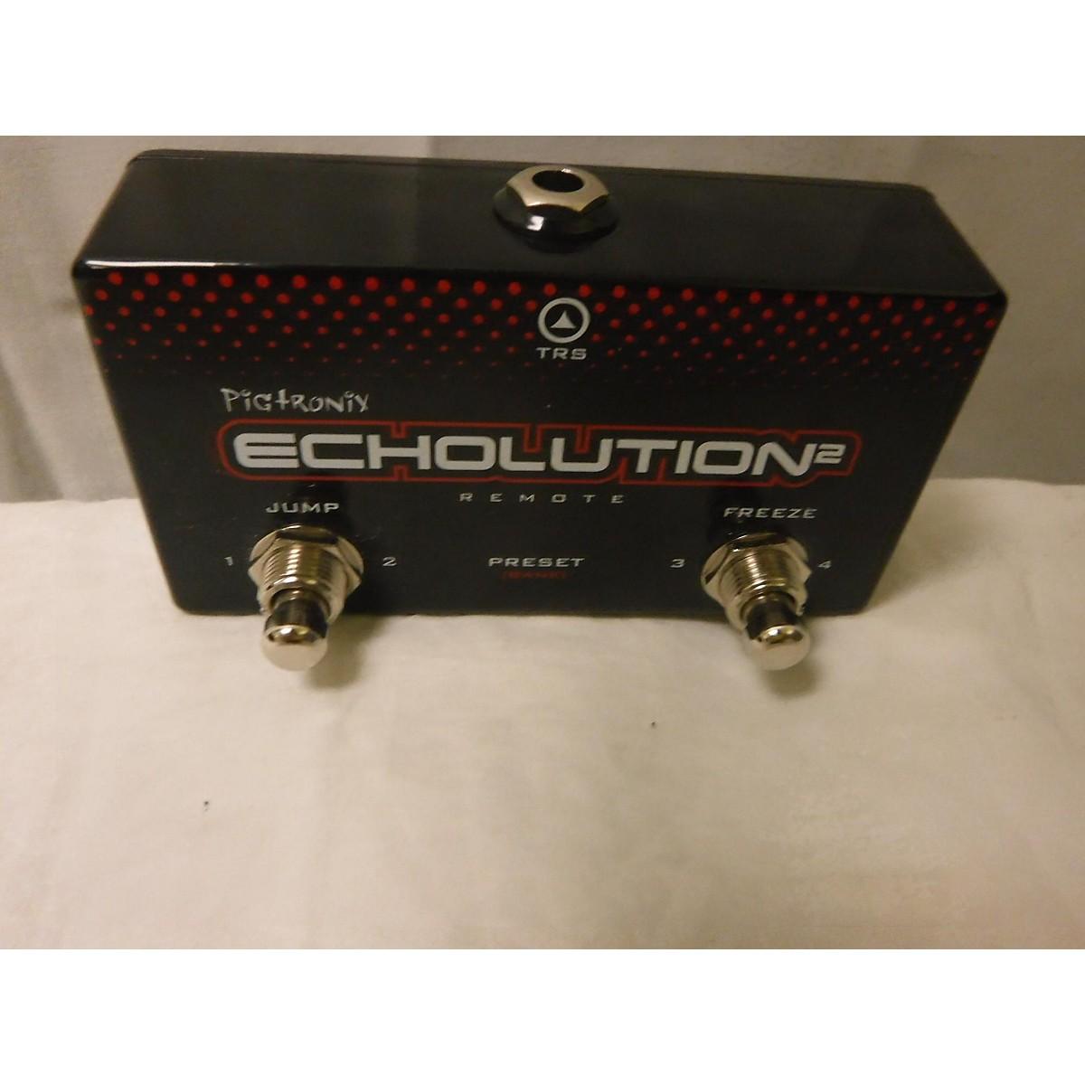 Pigtronix Echolution2 Remote Effect Pedal
