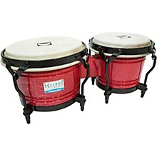 Eclipse Bongos 7 and 8.5 in. Red Craft
