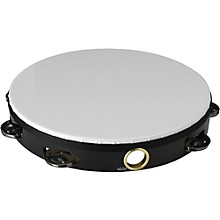 Economy Tambourines 10 in. Single Row Jingles