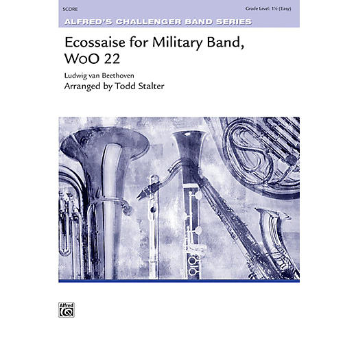 Alfred Ecossaise for Military Band, WoO 22 Concert Band Grade 1.5