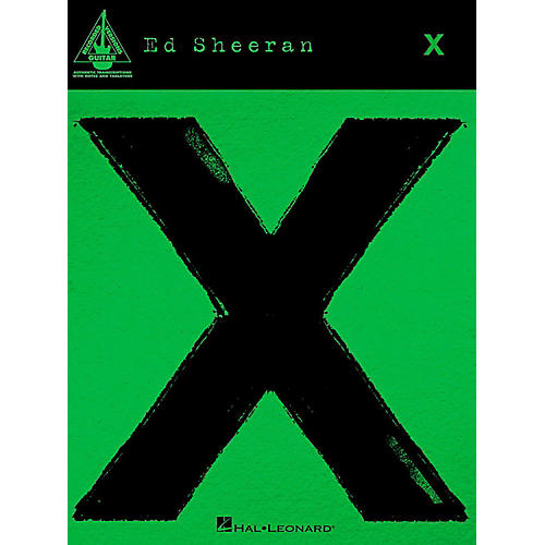 Hal Leonard Ed Sheeran - X for Guitar Tab