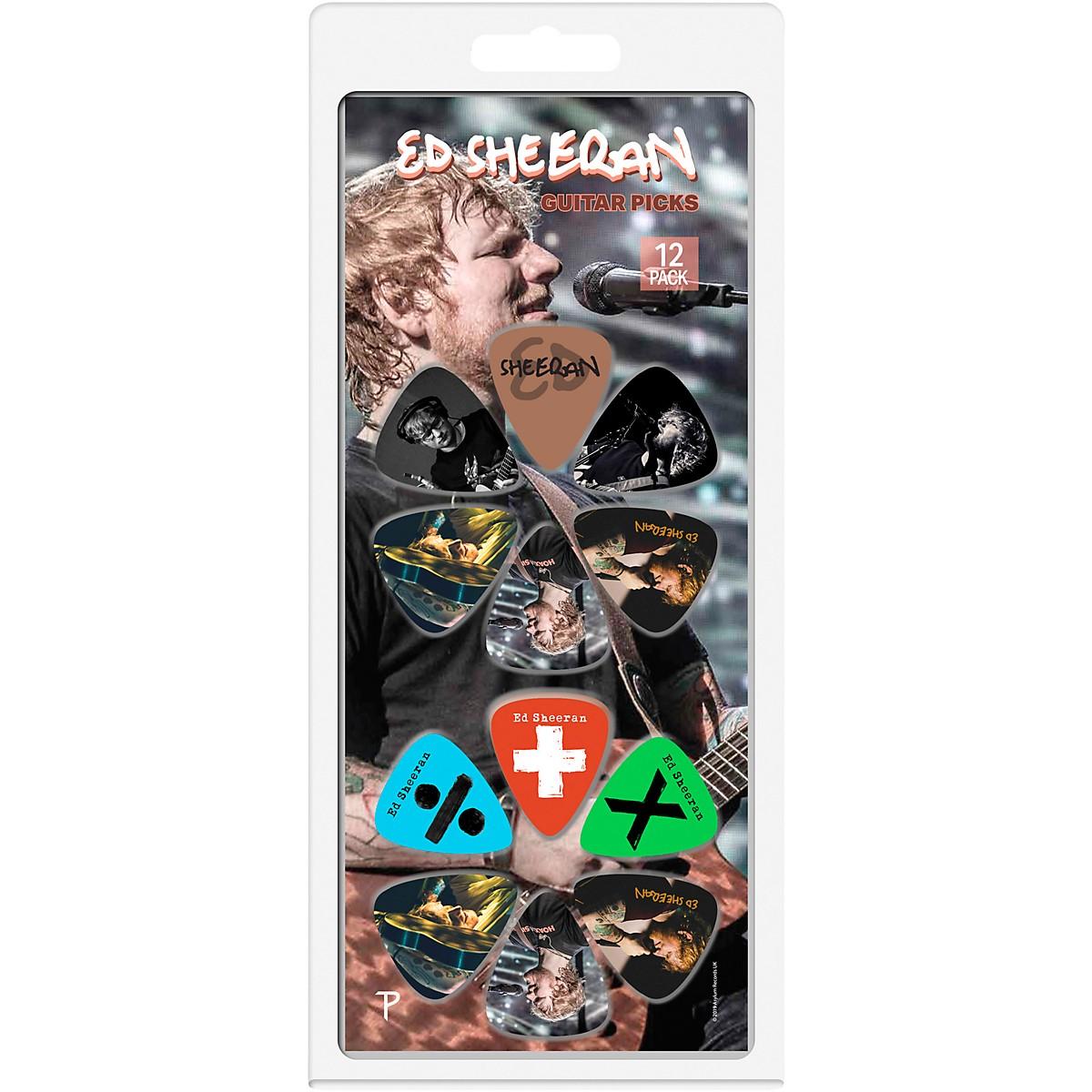 Perri's Ed Sheeran 12-Pack Guitar Picks