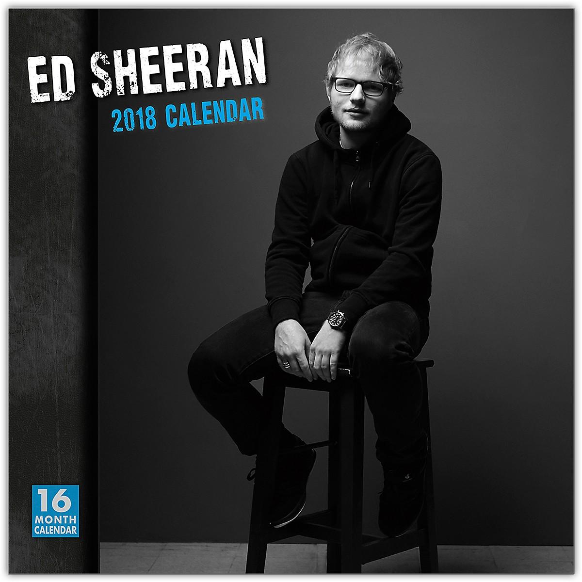 Browntrout Publishing Ed Sheeran 2018 Wall Calendar
