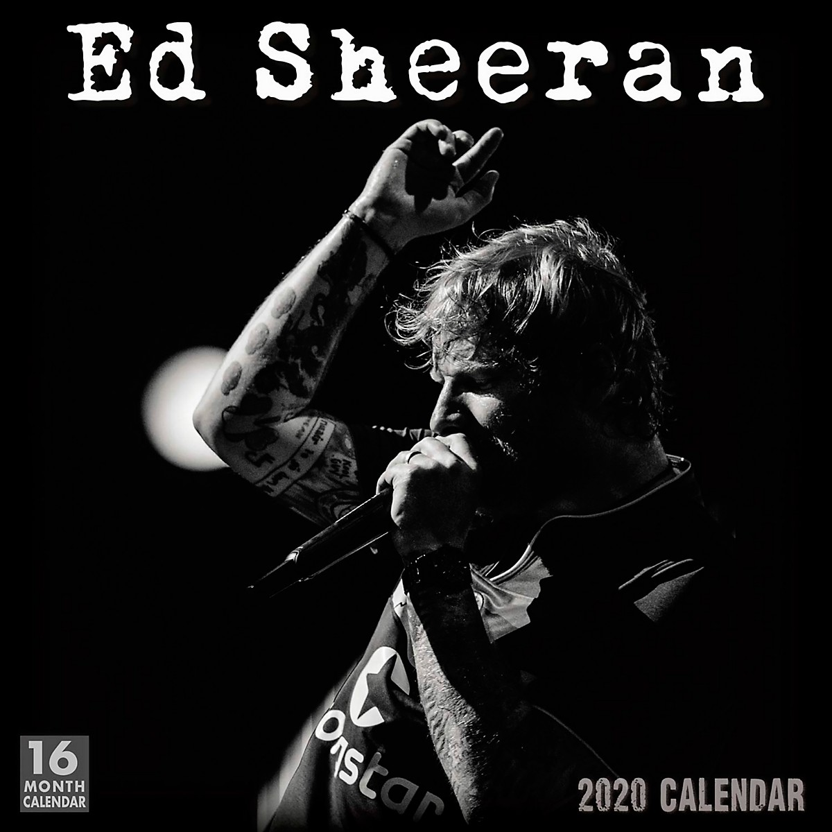 Browntrout Publishing Ed Sheeran 2020 Calendar