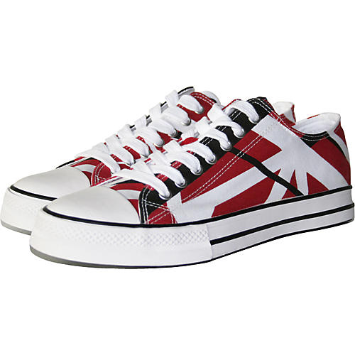 059edeaec6 EVH Eddie Van Halen Low Top Sneakers - Red