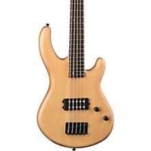 Edge 1 5-String Electric Bass Guitar Vintage Natural