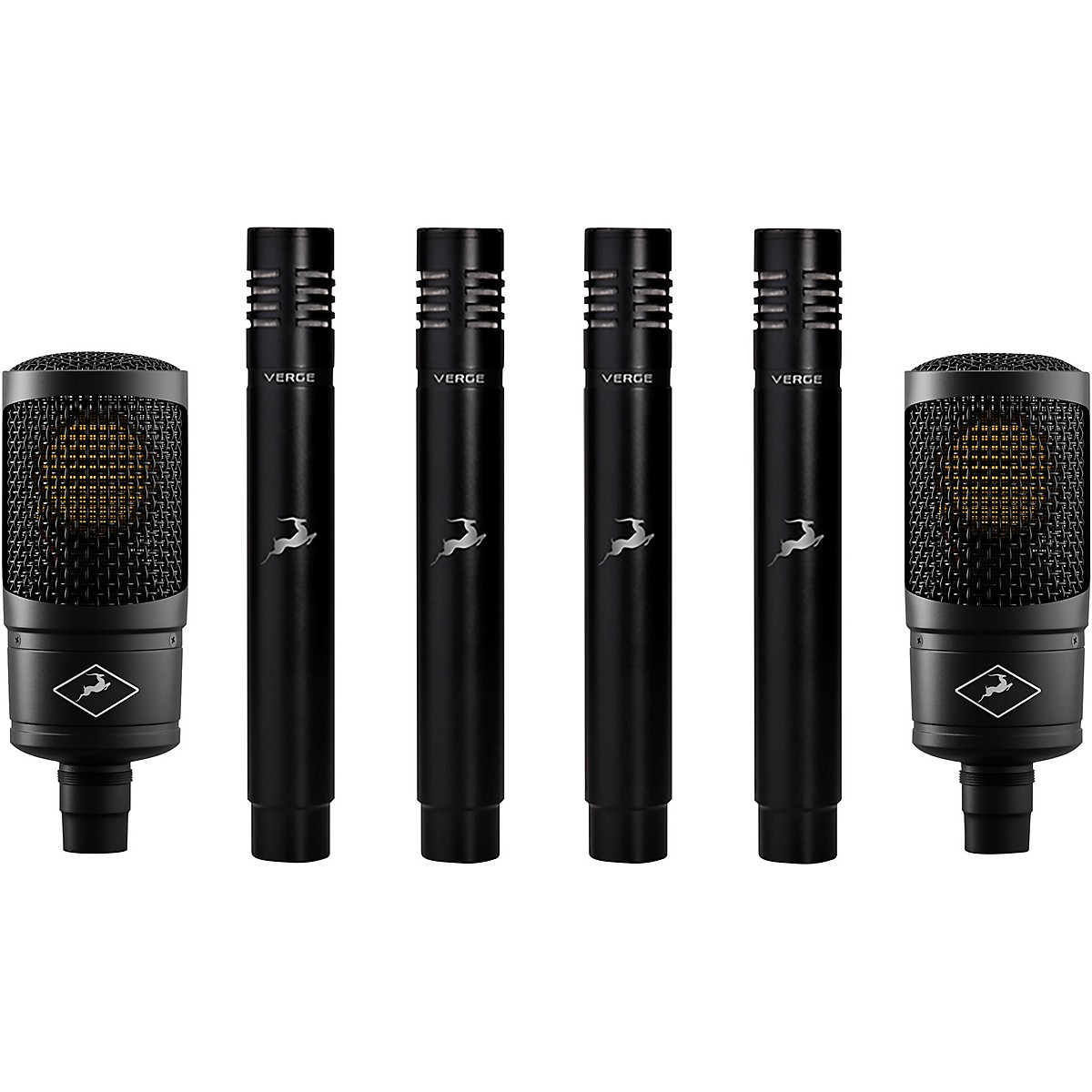 Antelope Audio Edge Solo Verge Bundle with 2 Edge Solos & 4 Verge Modeling Microphones