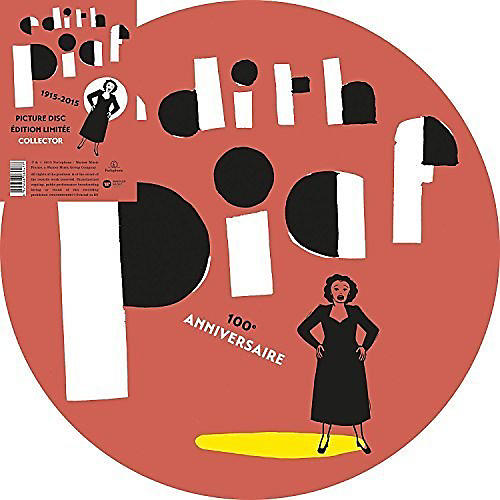 Alliance Edith Piaf - 100th Anniversary Picture Disc (Ltd.Ed.)