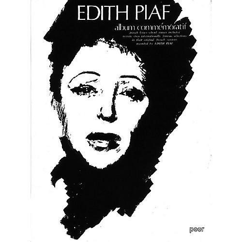 Hal Leonard Edith Piaf Album Commemor Peer Music Series