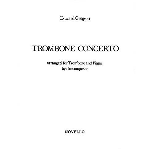 Music Sales Edward Gregson: Concerto For Trombone Music Sales America Series