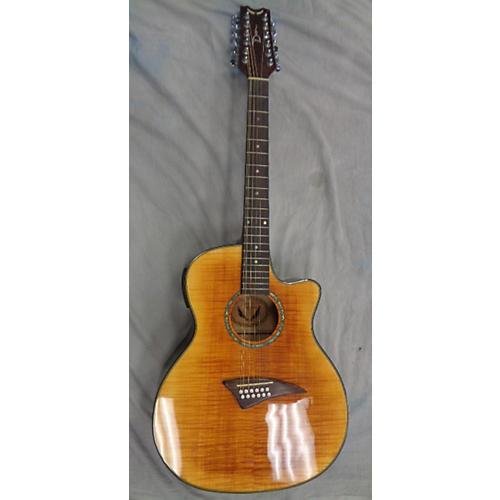 Dean Efm12ftge 12 String Acoustic Electric Guitar