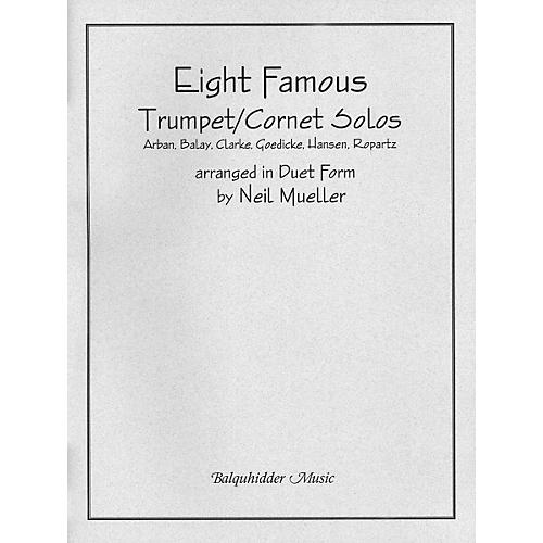 Carl Fischer Eight Famous Trumpet / Cornet Solos Arranged in Duet Form Book