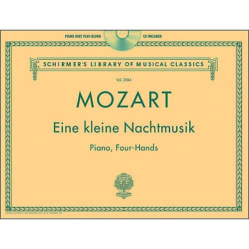 G. Schirmer Eine Kleine Nachtmusik - Piano Duet Play-Along with CD By Mozart