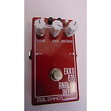 Malekko Heavy Industry Ekko 616 Analog Delay Effect Pedal