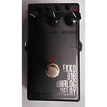 Malekko Heavy Industry Ekko 616 MKII Dark Analog Delay Effect Pedal