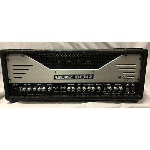 used genz benz el diablo 100 tube guitar amp head guitar center. Black Bedroom Furniture Sets. Home Design Ideas