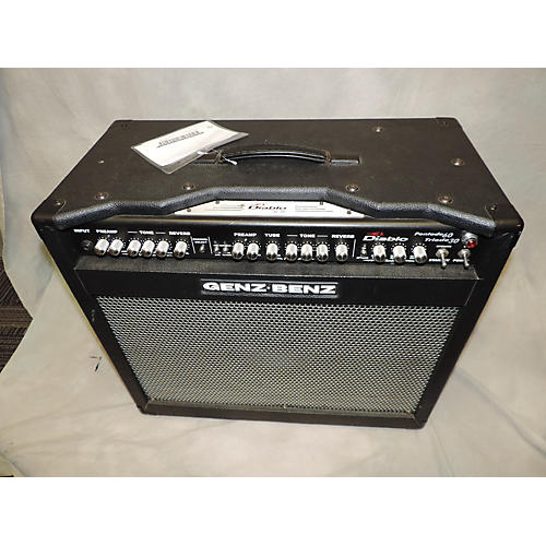 used genz benz el diablo triode 30 60 1x12 combo tube guitar combo amp guitar center. Black Bedroom Furniture Sets. Home Design Ideas