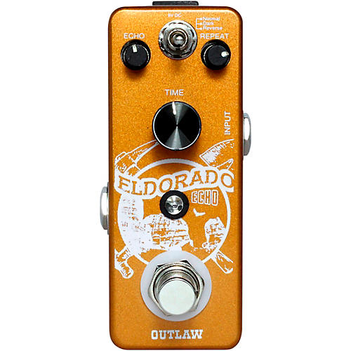 Outlaw Effects Eldorado 3-Mode Echo Effects Pedal