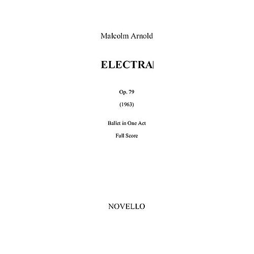 Novello Electra Op. 79 (Study Score) Music Sales America Series Softcover Composed by Malcolm Arnold