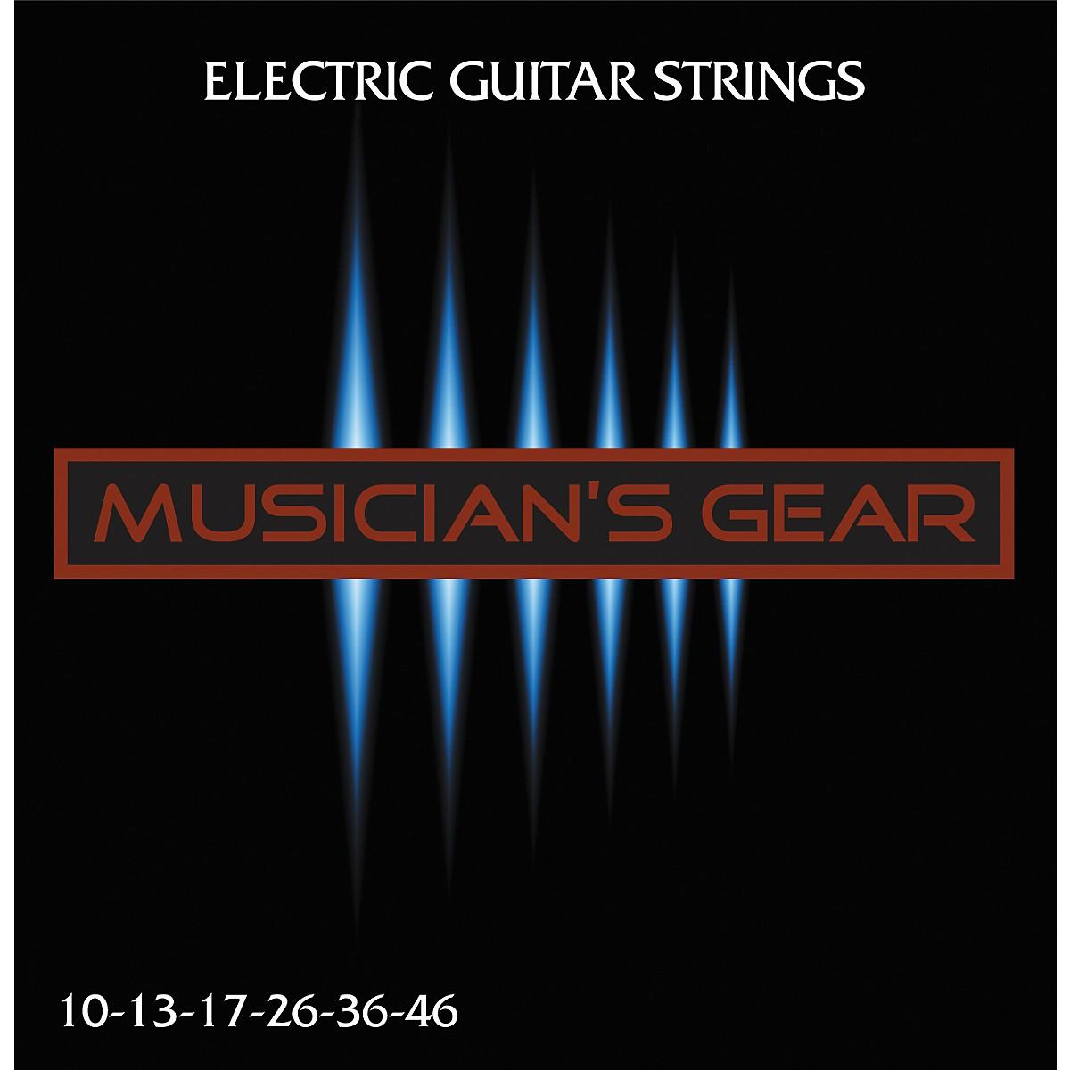Musician's Gear Electric 10 Nickel Plated Steel Guitar Strings