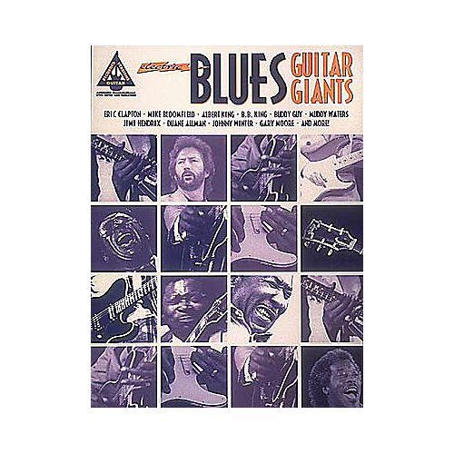 Hal Leonard Electric Blues Guitar Giants Book