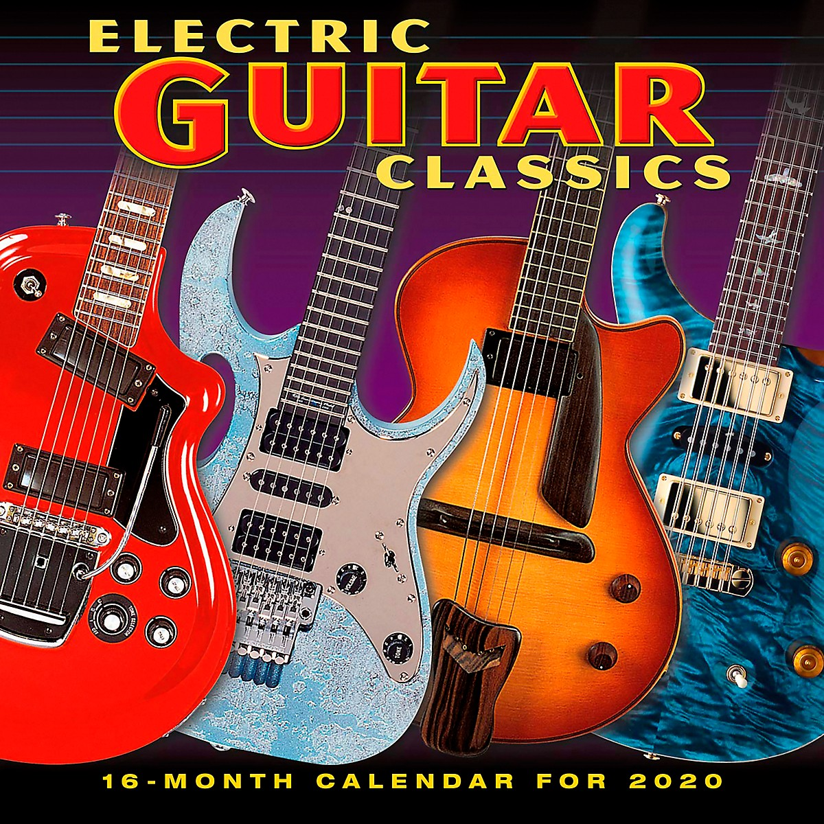 Browntrout Publishing Electric Guitar 2020 Calendar