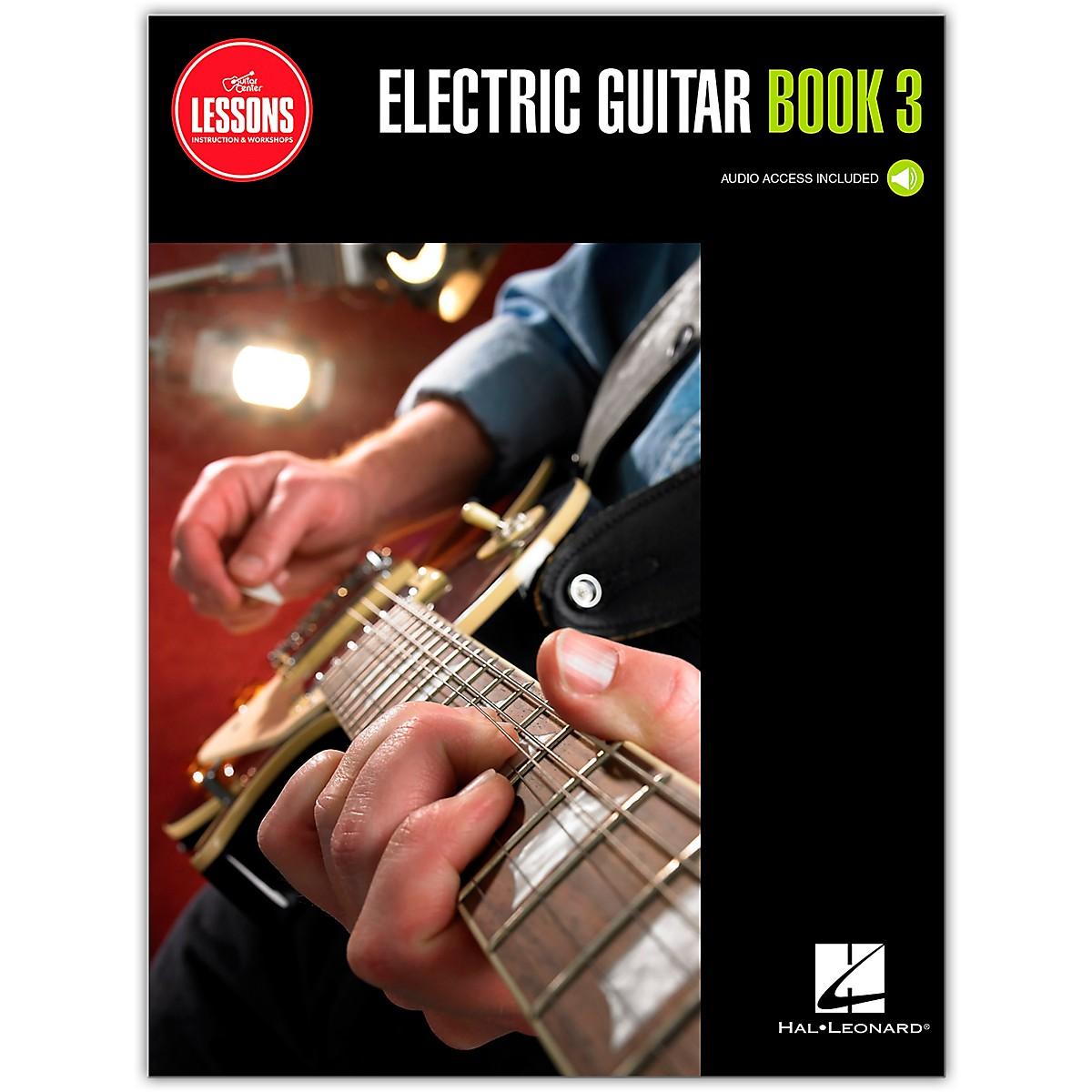 Guitar Center Electric Guitar Method Book 3 - Guitar Center Lessons (Book/Audio)
