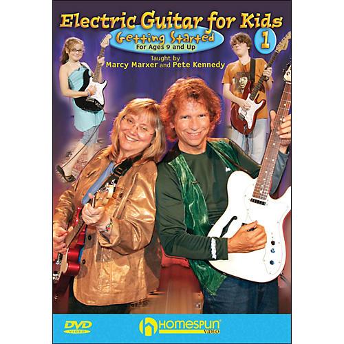 Homespun Electric Guitar for Kids, DVD One