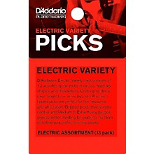 D'Addario Electric Pick Variety 13-Pack