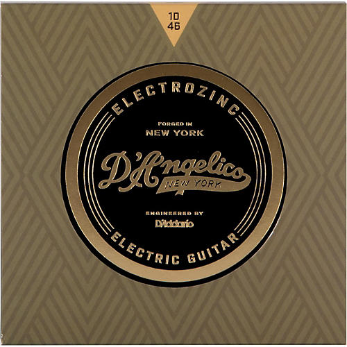 D'Angelico Electrozinc Rock 10-46 Light Electric Guitar Strings