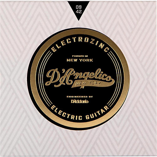D'Angelico Electrozinc Rock 9-42 Extra Light Electric Guitar Strings