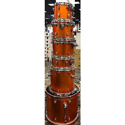 used ludwig element drum kit orange guitar center. Black Bedroom Furniture Sets. Home Design Ideas