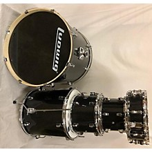 Ludwig Element Evolution With Hardwar, Cymbals, And Double Bass Pedal Drum Kit