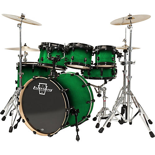 Ludwig Element Lacquer 6-Piece Power Shell Pack