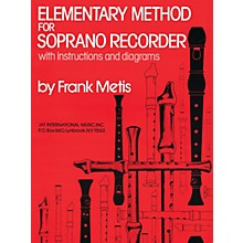 Criterion Elementary Method for Soprano Recorder Criterion Series Softcover Written by Frank Metis